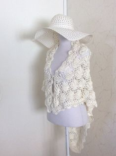 Bridal Shawl, Wedding Shawl, Bridal Lace, Crochet Scarves, Crochet Shawl, Crochet Lace, Black And White Scarf, White Lace, Crochet Wedding