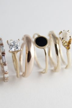 Bario Neal is an ethical custom jewelry designer that creates handmade rings with conflict free diamonds and other gemstones. We create unique engagement rings, affordable wedding rings, and wedding bands for women and men. Jewelry Box, Jewelry Accessories, Fashion Accessories, Fashion Jewelry, Gold Jewelry, Jewlery, Jewelry Rings, Cheap Jewelry, Fine Jewelry