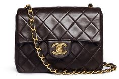 Vintage Chanel Quilted leather 2.55 shoulder bag