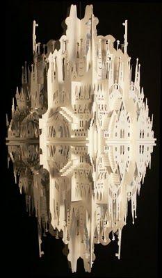 Paper castle.