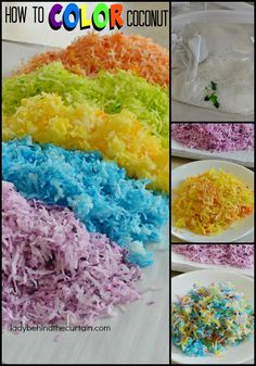 How to Color Coconut   Add this easy step and take a regular dessert up a notch! Decorate a cake or cupcakes. Transform the top of your cake or cupcakes into works of art!