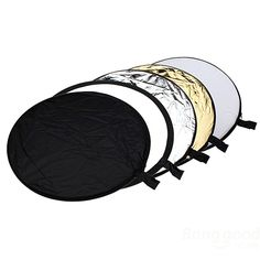 5 in 1 Light Mulit Collapsible Disk Style Reflector 60cm - €6.37