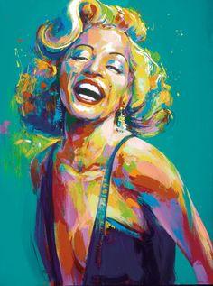 Marilyn Monroe by Malcolm Farley.
