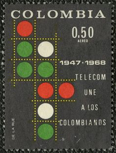 SO MUCH PILEUP: Philately Fridays: Colombia, 1968