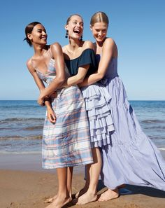 The J.Crew ready-to-party collection. Our new collection of very pretty, very festive pieces is designed for every bash, blowout and beach shindig on your summer agenda.