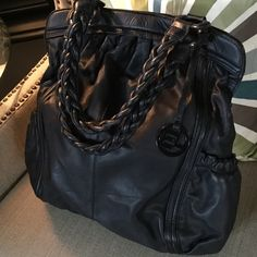 Selling this ELLIOT LUCCA SOFT BLACK LEATHER BAG! in my Poshmark closet! My username is: mrschi. #shopmycloset #poshmark #fashion #shopping #style #forsale #Elliott Lucca #Handbags