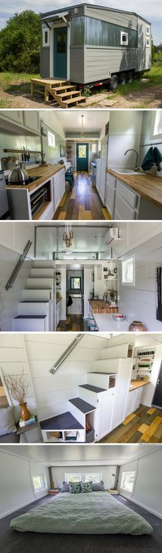 The Fallen Leaves Tiny House (250 sq ft)