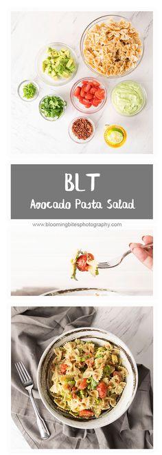 BLT Avocado Pasta Sa