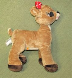 Build A Bear CLARICE Plush Rudolph the Red Nosed Reindeer Christmas Stuffed Toy #BuildABearWorkshop
