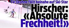 TV-Drohne fällt im 2.Lauf beinahe auf Marcel Hirscher !! 22-Dez