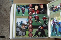 Layout: football  by Angie on SS