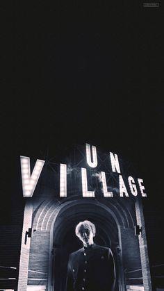 Baekhyun solo album, City Lights, Un Village Lit Wallpaper, Lock Screen Wallpaper, Baekhyun Wallpaper, Exo Lockscreen, Exo Members, Chanbaek, City Lights, Chanyeol, Aesthetic Wallpapers
