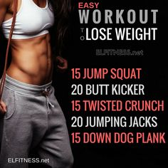 This workouts that can be done anywhere and anytime.