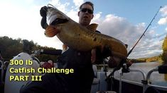 300 lb catfishing challenge Part 3 - how to catch catfish in the winter. Catfish And Carp, How To Catch Catfish, Challenges, Winter, Winter Time, Winter Fashion
