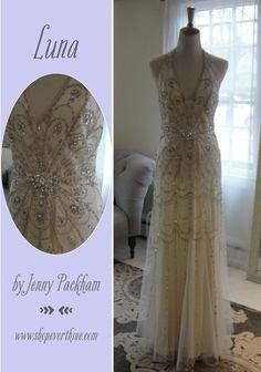 Stunning Romanced wedding dress by Sarah Seven So romantic Everthine Bridal Boutique u a bridal shop serving Connecticut Rhode Island New York Bost u