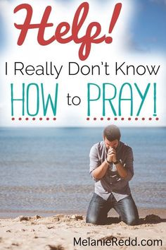 Sometimes we make the assumption that everyone knows how to pray. But, we would be remiss if we didn't look around sometimes and realize there are a lot of folks who'd like to learn to pray or to improve their prayer life. This article gives simple, clear, and helpful instruction for beginners, for new believers, for children, for families, and for anyone else who would like to learn to pray. There's even a helpful printable for you. #prayer#pray#howtopray