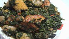 How to Cook Edikang Ikong Soup ,Edikang Ikong Soup recipe,EdikangIkong Soup
