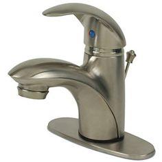Ultra Faucets 1-Handle Bathroom Faucet - Nickel