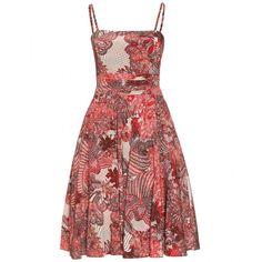 McQ Alexander McQueen Lace Print Dress (£385) ❤ liked on Polyvore featuring dresses, vestidos, day dresses, short dresses, blood red, red strapless dress, short evening dresses, red dress, red lace cocktail dress and holiday cocktail dresses