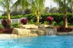 Waterfalls are great to listen to when you are sun-bathing, reading or just relaxing by the poolside. They also make sure your #swimmingpool is well circulated.