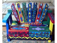 Place a bid on Hand Painted Garden Bench from Barbara Vallerga's First Grade Class to help support the Harmony Ark Education Foundation fundraising auction. School Auction Projects, Class Art Projects, Classroom Projects, Art Classroom, Solar System Crafts, Art Auction, Auction Ideas, Silent Auction, Collaborative Art