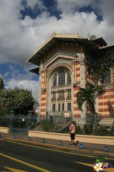 Bibliothèque Schoelcher - Martinique - Antilles © AliZéMédia
