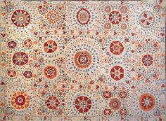 8x10 Suzani rug at Nomad Rugs