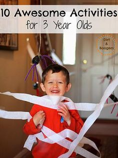 Kaila's Place|10 Activities for 3 year olds