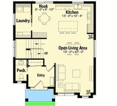 Plan 22452DR: Compact Northwest House Plan