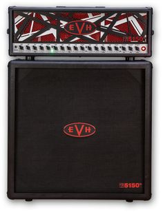 5150 III® Limited Edition Half Stack with Striped Head. It would go well with Hunters 5150 EVH guitar.