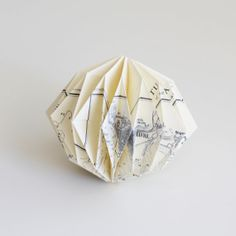 Origami Ball  The Seine River by UpTheWoodenHills on Etsy, kr48.00