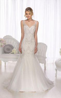 4cbcd008f70 29 Best Drop waist wedding dress images