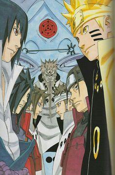 Las Reencarnaciones de Indra y Ashura - Naruto Shippuden