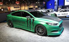 Wild Ford Fusions Prove Sedans Don't Have to be Boring: 2012 SEMA Show. For more, click http://www.autoguide.com/auto-news/2012/10/wild-ford-fusions-prove-sedans-dont-have-to-be-boring-2012-sema-show.html