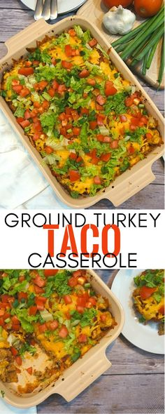This Easy Turkey Taco Casserole Recipe Saves Our Weeknight Dinners #ad #TurkeyAllYear
