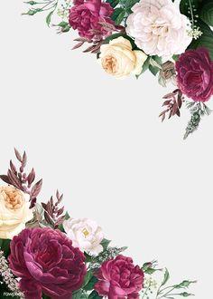 Floral wedding invitation mockup illustration premium image by rawpixel com greenery wedding invitation template eucalyptus printable weddinginvitation Design Floral, Motif Floral, Floral Border, Flower Graphic Design, Invitation Mockup, Floral Invitation, Wedding Invitation Templates, Floral Wedding Invitations, Flower Background Wallpaper
