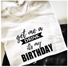 Items similar to Happy Birthday T-shirt, Womens birthday shirt, special birthday shirt, gift for her, graphic tees women on Etsy Fifty Birthday, Birthday Woman, Happy Birthday, Birthday Ideas, 21 Birthday, Special Birthday, Birthday Decorations, Birthday Gifts, Birthday Parties