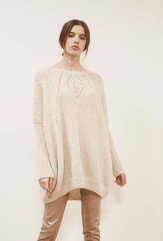 brand ready-to-wear fashion woman paris store fashion designer sweater ivory