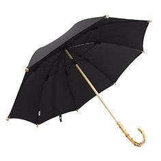 Gear up for the fall season with this sturdy Bronze umbrella top. The handle is made of rattan and bamboo. Umbrella Man, Outdoor Umbrella, Mash T Shirt, Best Charcoal Grill, Wood Sticks, Fall Season, New Product, Rattan, Solid Wood