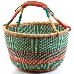Easter Baskets for the kiddos?  Ghana design.
