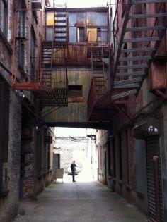 Warehouse in Gowanus Brooklyn: Philip VanDusen