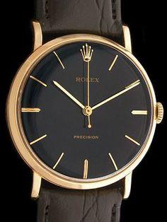 Black/Gold Vintage Rolex