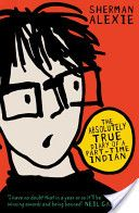 The Absolutely True Diary of a Part-time Indian by Sherman Alexie. Junior, Native American boy and a budding cartoonist, leaves his school on the Spokane Indian Reservation to attend an all-white high school. Spokane Indians, Sherman Alexie, Farm Town, Vampire Books, Part Time, Popular Books, The Book, Book Review, Bestselling Author
