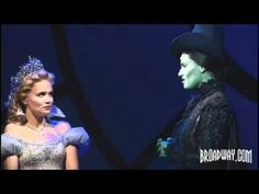 "LOVE ""For Good"" from show Wicked. GREAT show and I'm not an Oz fan. I have a feeling everyone thinks of someone in their lives that they can relate to when it comes to the words of this song."