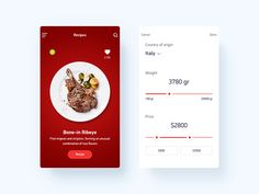 Steak Mobile App by Oleg Usachev