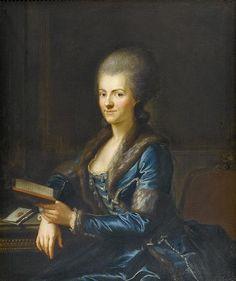 Anton Graff (1736–1813) - Portrait of Elisabeth Sulzer.