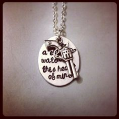 Personalized Necklace Hand Stamped Jewelry  by KristinesKeepsakes, $23.00