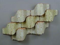 architectural ceramic tile sculpture wall painting clay art installation ceramics tiles glazed pattern modern contemporary interior exterior design mathematical  Jason H Green LOVE it