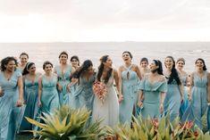 """""""Não foi como eu sempre sonhei, mas foi infinitamente melhor""""   Ingrid e Denilson Boho Chic, Bridesmaid Dresses, Wedding Dresses, Lei, Fashion, Bridesmaids, Dresses For Beach Wedding, Dream Dress, Rosa Clara"""