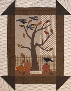 Geoff's Mom - autumn pattern